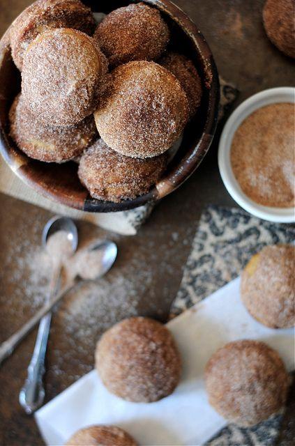 Pumpkin Doughnut Holes / How To: Simplify, via Flickr