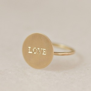 LOVE ring #jewelry