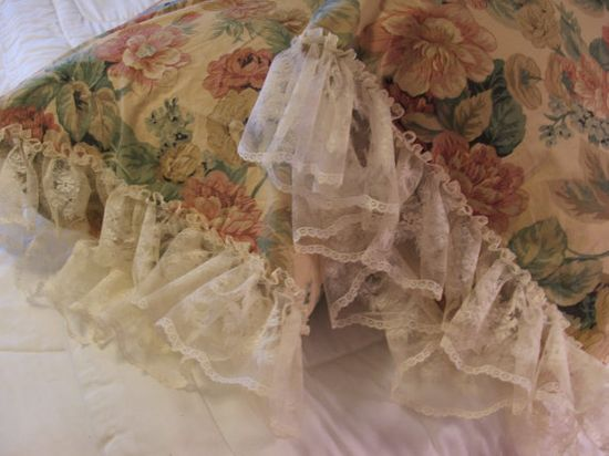 shabby chic pillow cases An idea for you...