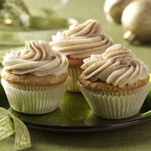 Chai Cupcakes Recipe from Taste of Home