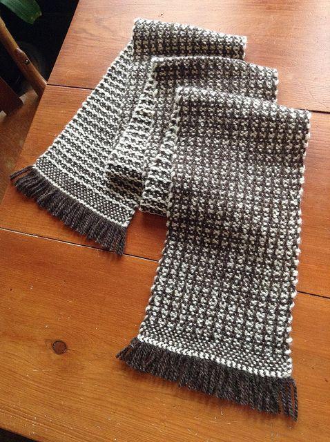 Wool Scarf by workingyarn, via Flickr