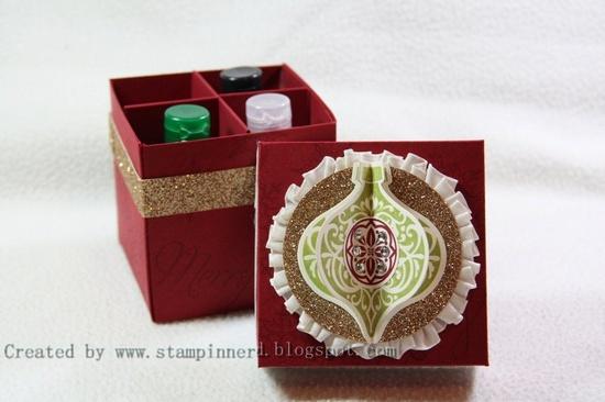 Stampin Nerd: Gift Box and Tutorial