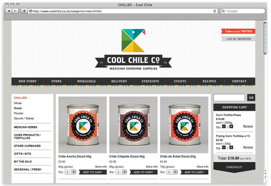 Amazing web design ideas cool chile co online shop design - Internet shop design ...