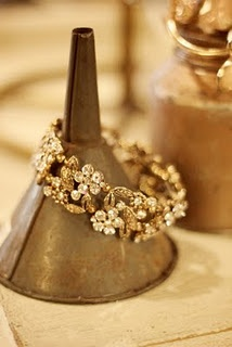 funnel bracelet display
