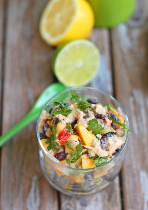 Mango Chicken Salad - Pinch of Yum