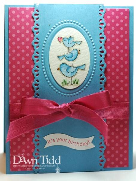 For the Birds by marmie43gs - Cards and Paper Crafts at Splitcoaststampers