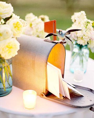wedding card holder