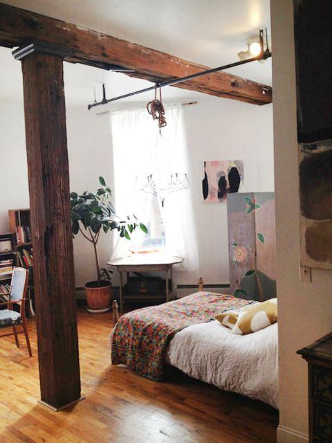 love wood beams like this
