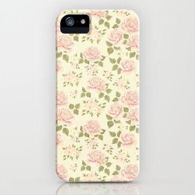 Vintage Roses iPhone Case