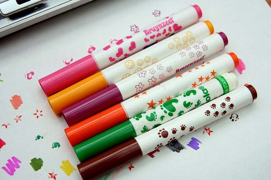 Crayola Stamp Markers #90s