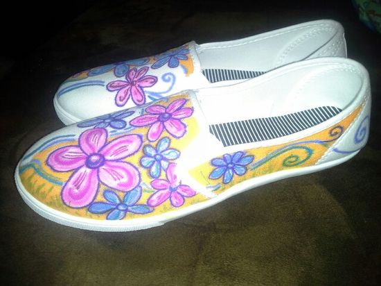 My shoes Brandon made!