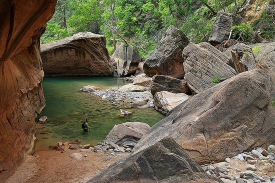 The Narrows in Zion National Park, I'll see you in September!