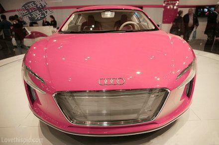Pink Audi cars pink car car photos car images image of cars photo of cars car picture car pictures car photo audi pink audi