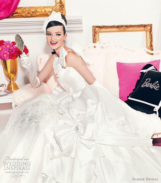 barbie bridal wedding dress