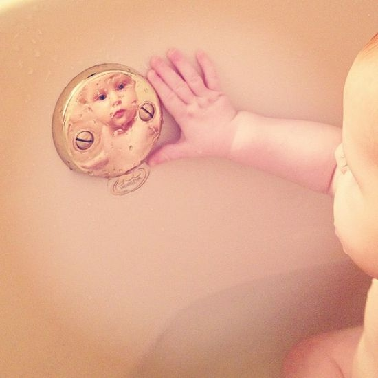 Sweet, sweet bath time photo idea by Erinhkw, via Flickr