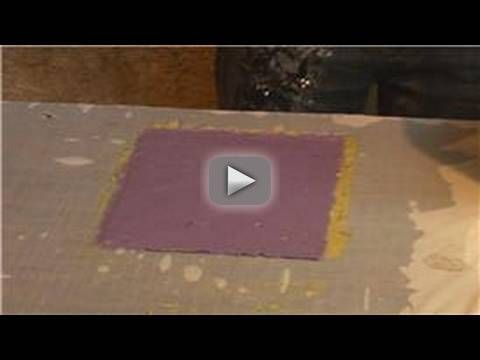 Making Handmade Paper : Double-Sided Handmade Paper Making - Make your handmade paper double-sided using basic paper making techniques. Learn how to add a different colored side with tips from a crafts expert in this