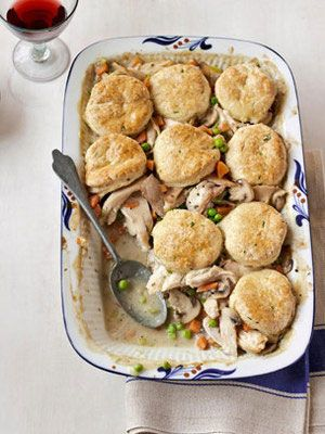 Chicken Pot Pie #casserole #recipe