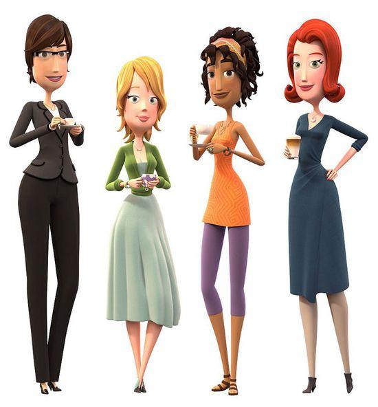 30 Creative 3D Cartoon Character Designs