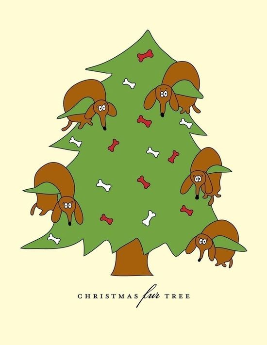 Merry Weiner Christmas!