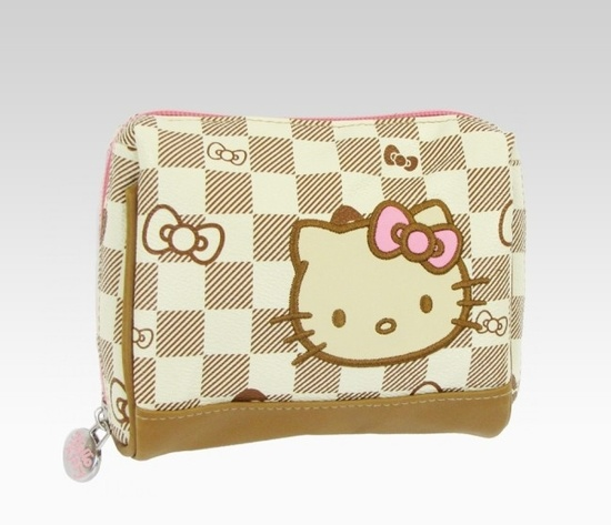 Hello Kitty Checkered Travel Accessories Collection