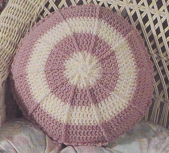 Pillow Crochet Patterns 6 Designs