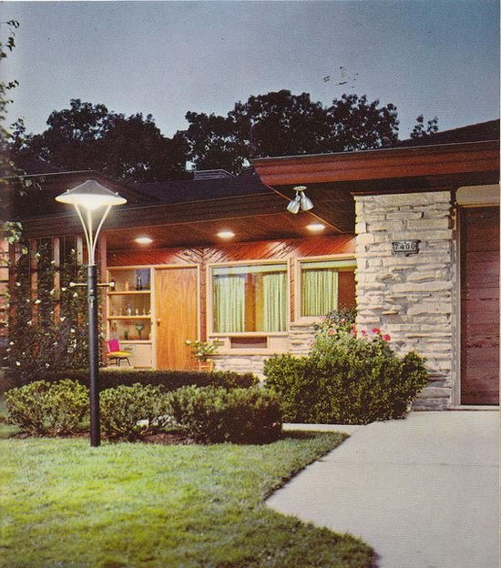 Gorgeous MCM Home, 1963