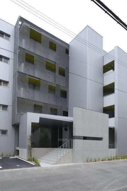 Shigeru Aoki Architect & Associates hikari first building . fukuoka #architecture
