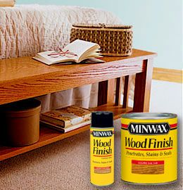 Minwax® Wood Finish with video for staining and installing architectural moldings.