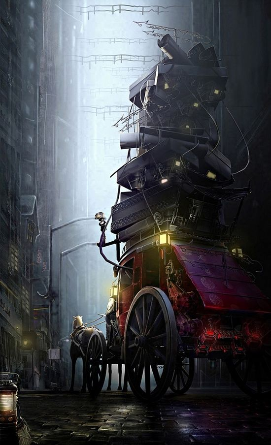 Stunning 3d Scenes by Jie Ma
