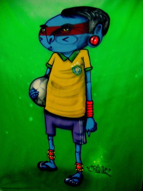 BRASIL by CRANIO