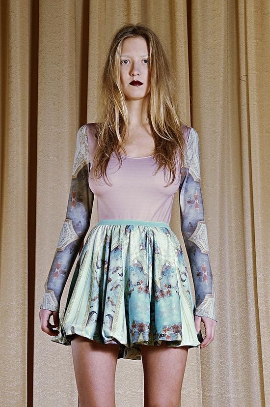 barocco mini skirt