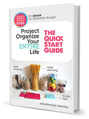 {Project Organize Your ENTIRE Life} Great starting point...