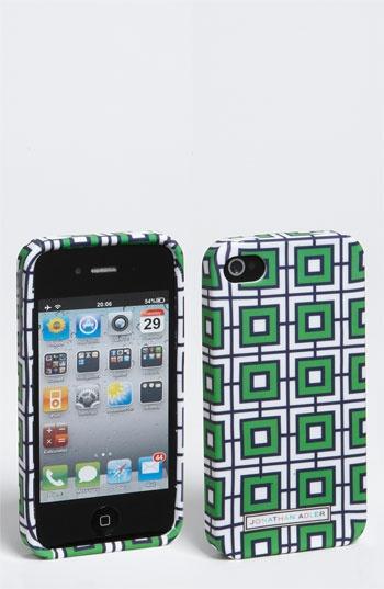 green geometric iPhone case
