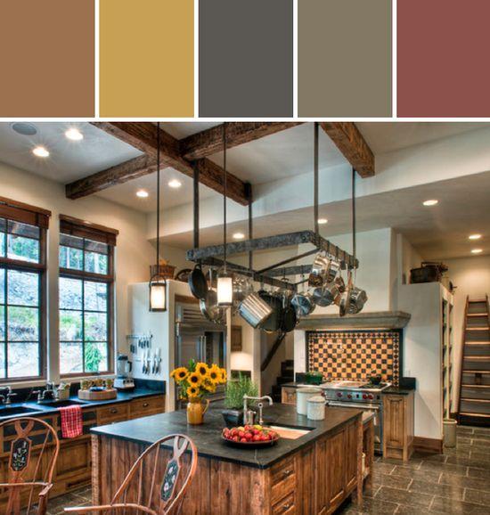Elk Highlands Kitchen Designed By Bear Mountain Builders via Stylyze