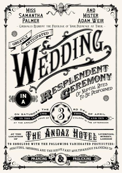 Wedding Invitation by peterbowen.devian...