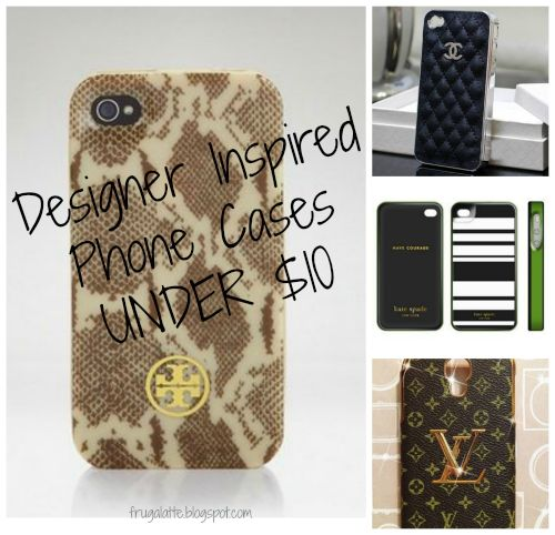 Designer Phone Cases under $10 SHIPPED!