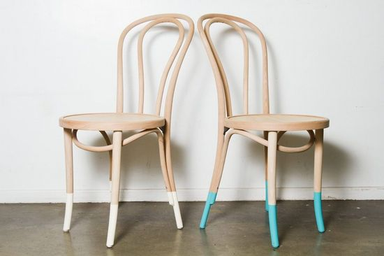 dipped bentwood chairs