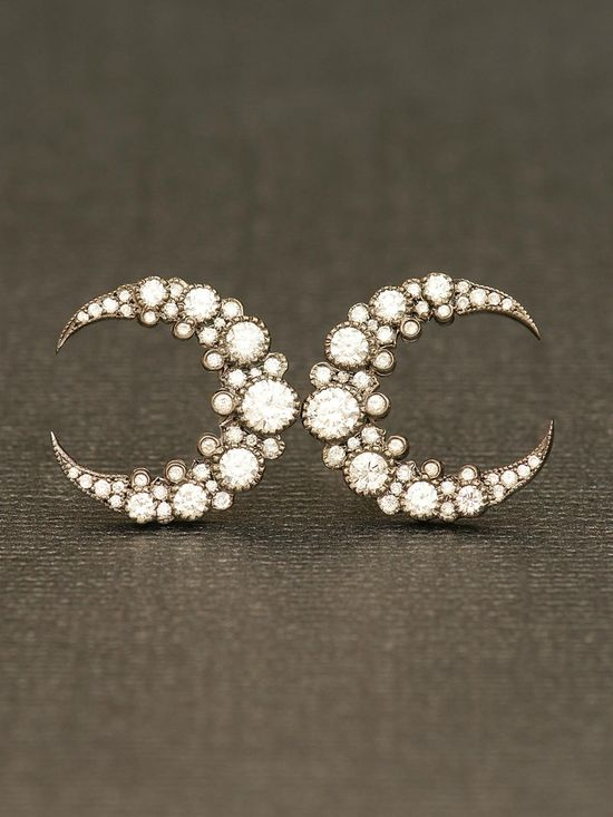 Moon Earrings  #earrings #celestial from www.eozy.com  Women's clothes  , fashion , fashionista  , women's fashion shoes , boots , accessories, .Women's Accessories, Ladies Accessories earrings , rings , bracelets , purses, handbags #handbags  #clothes #fashion #fashionista #sexy #style #shoes #boots