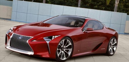 Lexus sports car 2012