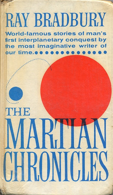 The Martian Chronicles, book cover, 25th Printing 1970