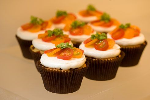 BLT Cupcake. This article lists other savory cupcakes from a Chicago bakery.
