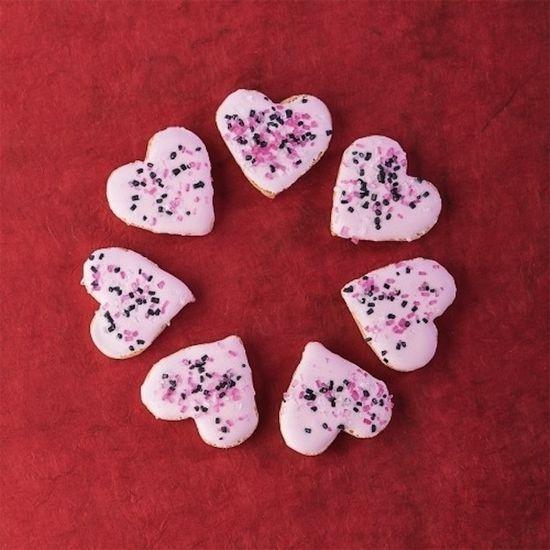 Gluten-Free Valentine Sugar Cookie Bites
