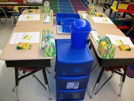 Classroom Organization:  Desk Arrangement