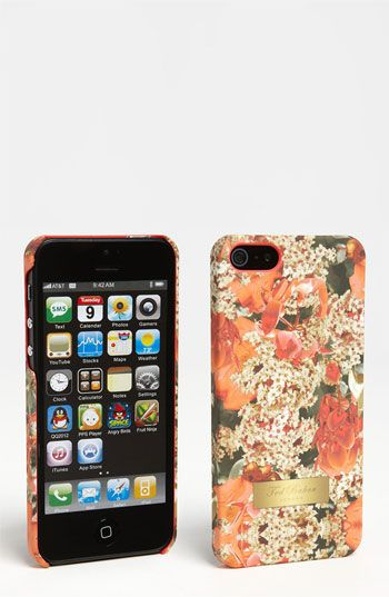 Peach Blooms Case for iPhone5