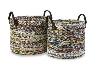 Cool Recycled Magazine Baskets For Interior Decoration 2013 Inspiration Design by keaw
