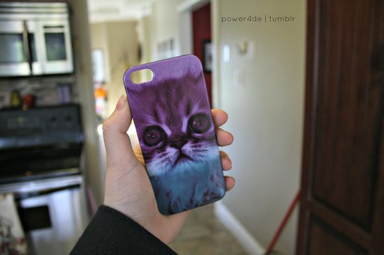 cat iphone case. ?