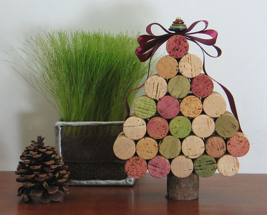 from wine corks