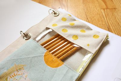 Back to School ~ Binder Pouch Tutorial