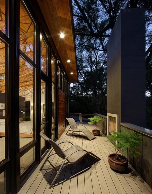 modern house design outdoor living spaces