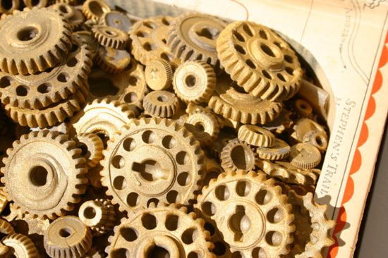 Edible Candy Gears,   at Andie's Specialty Sweets